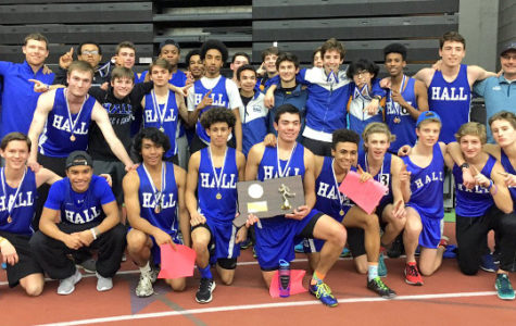 Hall Track and Field Capture 1st State Title since '55