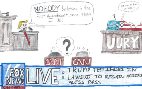 Trump Testifies in Lawsuit to Regain Acosta's Press Pass