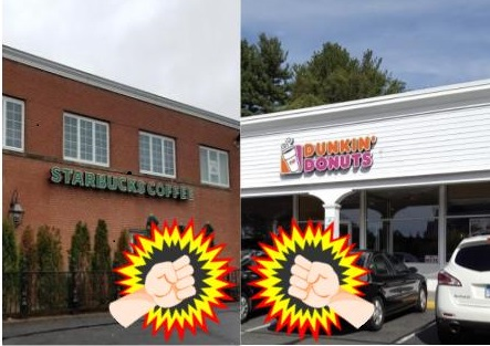 The Coffee Controversy: Dunkin' vs Starbucks