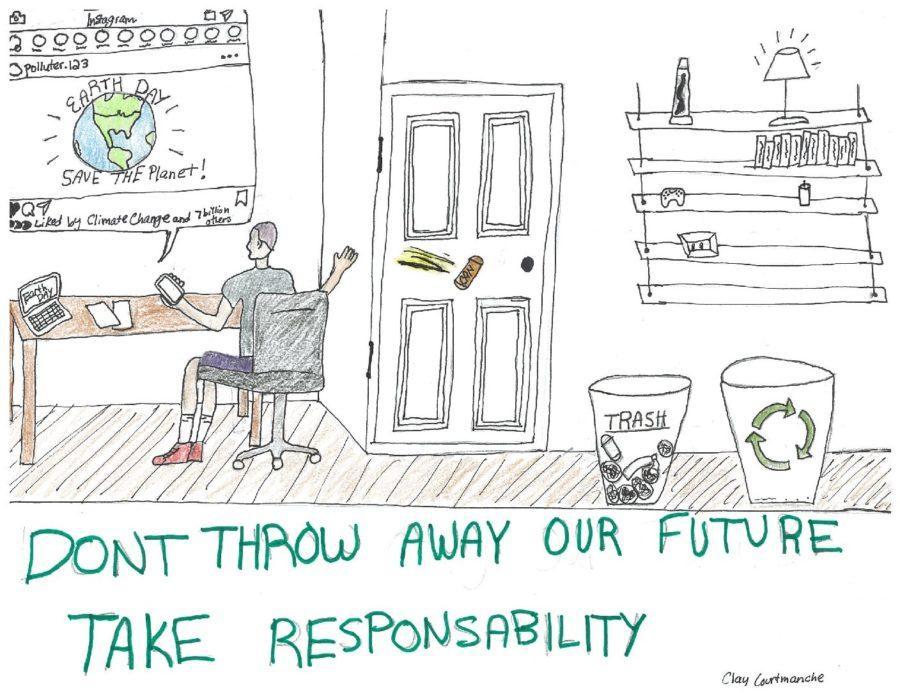 Earth Day Irony