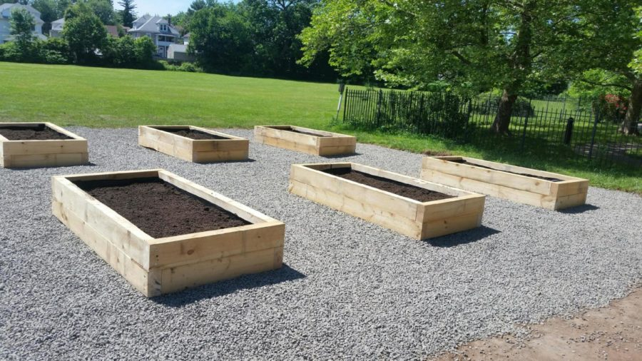 This is a picture of the final product of my Eagle Scout Project.