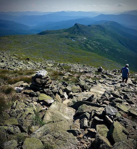 Hiking on Mount Washington
