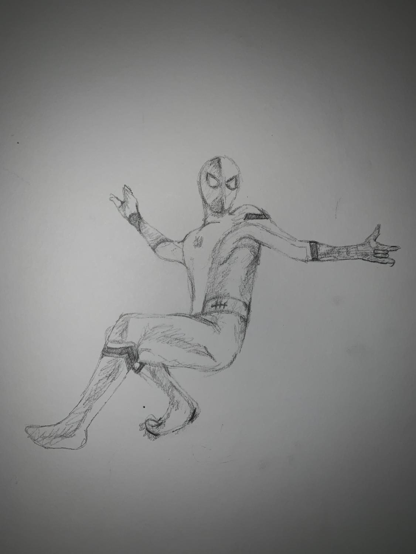 Spider-Man back in action.