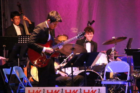 "Hall High School Concert Jazz Band Plays at ""Jazz for a Cause"""