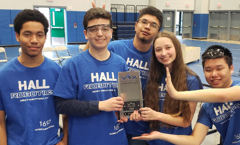 Hall Robotics Team Succeeds at Competitions