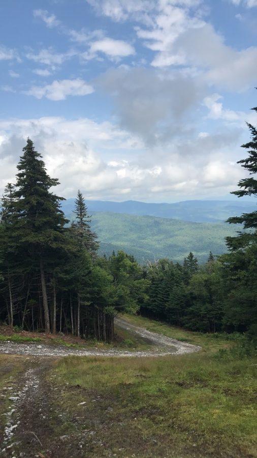 Endless trail through the mountains