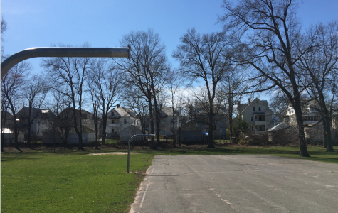 Town of west Hartford has removed all backboards to basketball hoops in order to enforce social distancing.