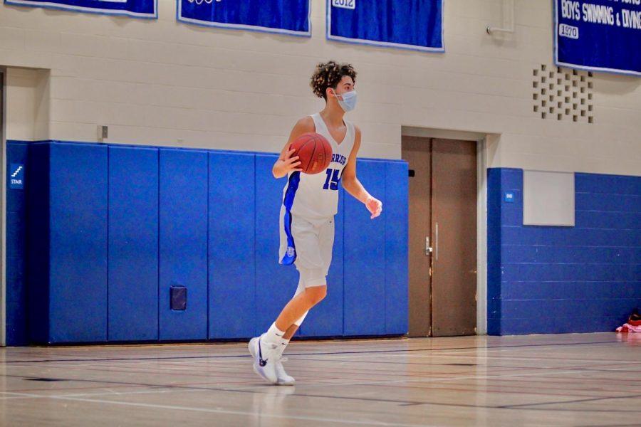 Makyle Ramos Playing Basketball